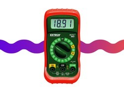 Don't guess around electricity with this $11 Extech digital multimeter