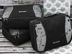 Organize your suitcase with this $11 set of packing cubes