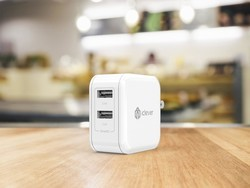 Charge two devices simultaneously with an $8 iClever BoostCube wall charger