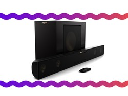 Get 2.1-channel surround sound from this $280 Klipsch Bluetooth soundbar