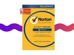 Cover up to 5 devices with $20 Norton Security antivirus