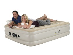 Get comfy and cozy with this $100 Serta Raised Queen Air Mattress
