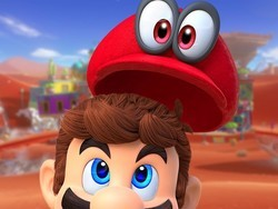 Join Mario as he explores the globe in Super Mario Odyssey for $38