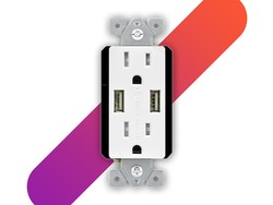 Replace your wall outlets with ones that have two USB ports for $15