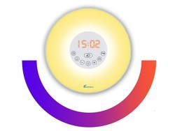 Wake up in the morning with Vansky's Sunrise Wake Up Light for $20