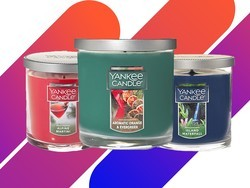 Buy one small tumbler candle and get two free at Yankee Candle