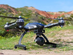 Begin your aerial photography career with this 4K YUNEEC drone for $499