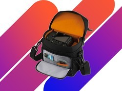 Take your DSLR gear on the go with the $10 Lowepro Adventura camera bag