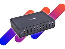 Charge all your devices at once with Anker's $33 10-port USB wall charger