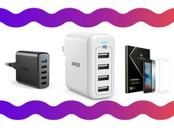 The PowerPort 4 wall charger for $19 is just one part of this Anker sale