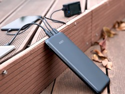 This 20000mAh power bank has 6 ports on it and is just $32