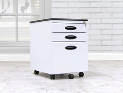 Secure your documents with the $88 Studio Designs Calico File Cabinet