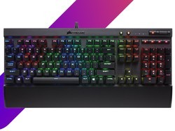 The Corsair K70 LUX mechanical keyboard is down to one of its lowest prices