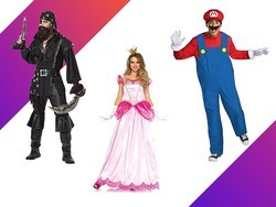 For one day only, save up to 35% on Halloween costumes at Amazon