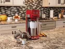 Start your morning off right with this $25 flex brew coffeemaker