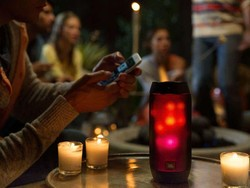 This awesome JBL Bluetooth speaker will light up your life