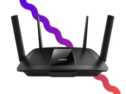 This $55 Linksys EA8500 router is perfect for homes with multiple devices