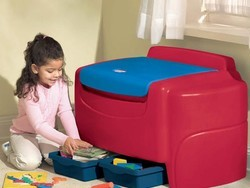Organize your chaos with the $34 Little Tikes Primary Colors Toy Chest
