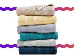 Get a whole new set of towels, washcloths and hand towels for under $9