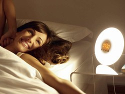 Wake up in a great mood every morning with this sunrise simulation alarm