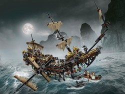 Join Jack Sparrow on the high seas with the $172 Silent Mary Lego set