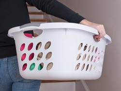 Scoop up a 6-pack of laundry baskets for only $26