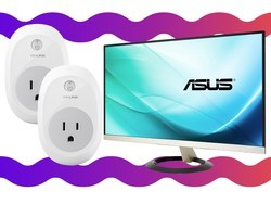 Grab this Asus 23-inch IPS monitor and 2 TP-Link smart plugs for just $130