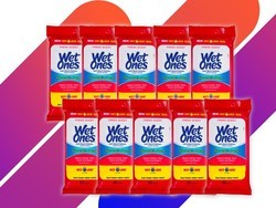 Make it through flu season with the $12 Wet Ones hand wipes (10-pack)