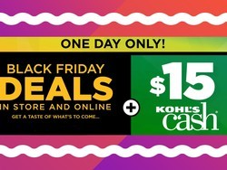 Kohl's is having a 1-day Black Friday Sale