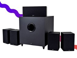 The Monoprice Premium 5.1-Channel speaker system is down to $140 total