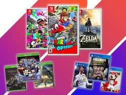 Save 40% off any video game at Toys R Us when you buy another at full price