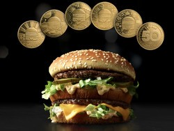 Turn in the collectible MacCoin for a free Big Mac