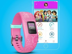 Make fitness fun with Garmin's Disney Princess Vivofit Jr. 2 tracker