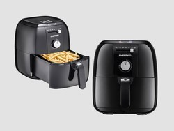Cook a quicker meal with the Chefman Analog Air Fryer at 50% off today only
