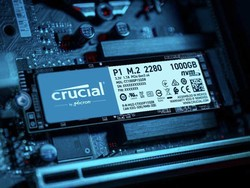Speed up your PC with the Crucial P1 500GB NVMe M.2 SSD on sale for $60