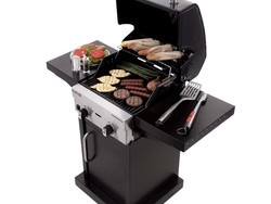 Cook something tasty with this Char-Broil 2-burner grill on sale for $230