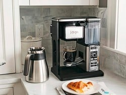 Treat mom to a refurb Ninja Coffee Bar Brewer System on sale for just $80