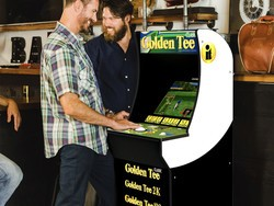 Perfect your game with Arcade1Up's Golden Tee cabinet on sale for $285