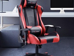 Get comfortable with this red GTRacing gaming chair on sale for $152