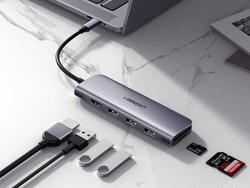 Plug everything in with UGREEN's discounted 6-in-1 USB-C hub