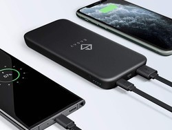 Keep your gear charged with this 10000mAh USB-C power bank down to just $9