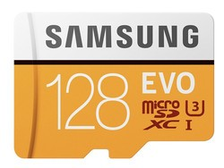 Samsung's 128GB Evo microSD card has dropped to $20 today at Newegg