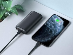 Aukey's 18W USB-C PD and Quick Charge 3.0 power bank is down to $15