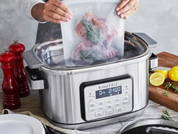 The Instant Pot Aura 6-quart multi-use slow cooker is $70 off today only