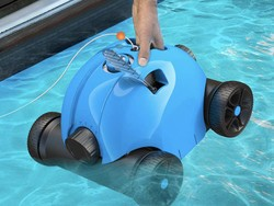 The rechargeable Paxcess automatic pool cleaner has dropped to $250