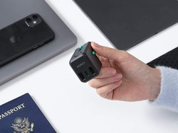 Charge around the world with Aukey's USB-C travel adapter on sale for $14