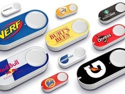 Amazon's Dash Buttons are Buy 2, Get 1 free and each include a $5 credit