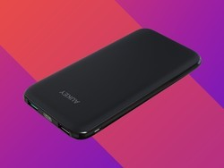 Slip this thin 10000mAh power bank into your pocket for just $14