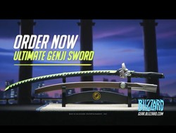Prove you're an Overwatch fan by pre-ordering the $200 Ultimate Genji Sword