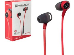 Stay on top of your game anywhere with the new HyperX Cloud Earbuds